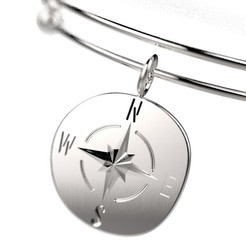 Download free STL WIND ROSE BRACELET, Genny