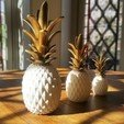 3D printer file PINEAPPLE, BOUTIN