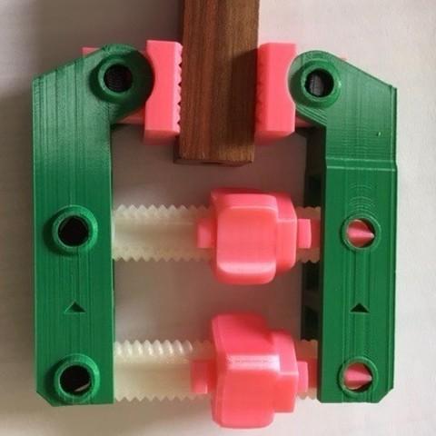 Descargar archivos 3D gratis Abrazadera de tornillo manual, sem