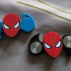Download free 3D printing files spinner spiderman, IenienVador