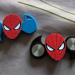 Free 3D printer model spinner spiderman, IenienVador