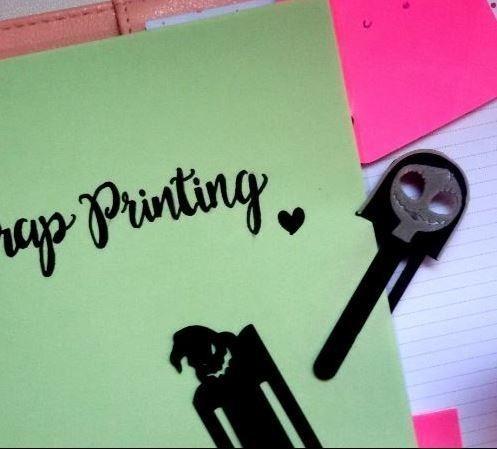 sally3.JPG Download free STL file Sally Bookmark • 3D printer template, ScrapPrinting