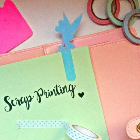Download free 3D printing templates TinkerBell Bookmark, ScrapPrinting