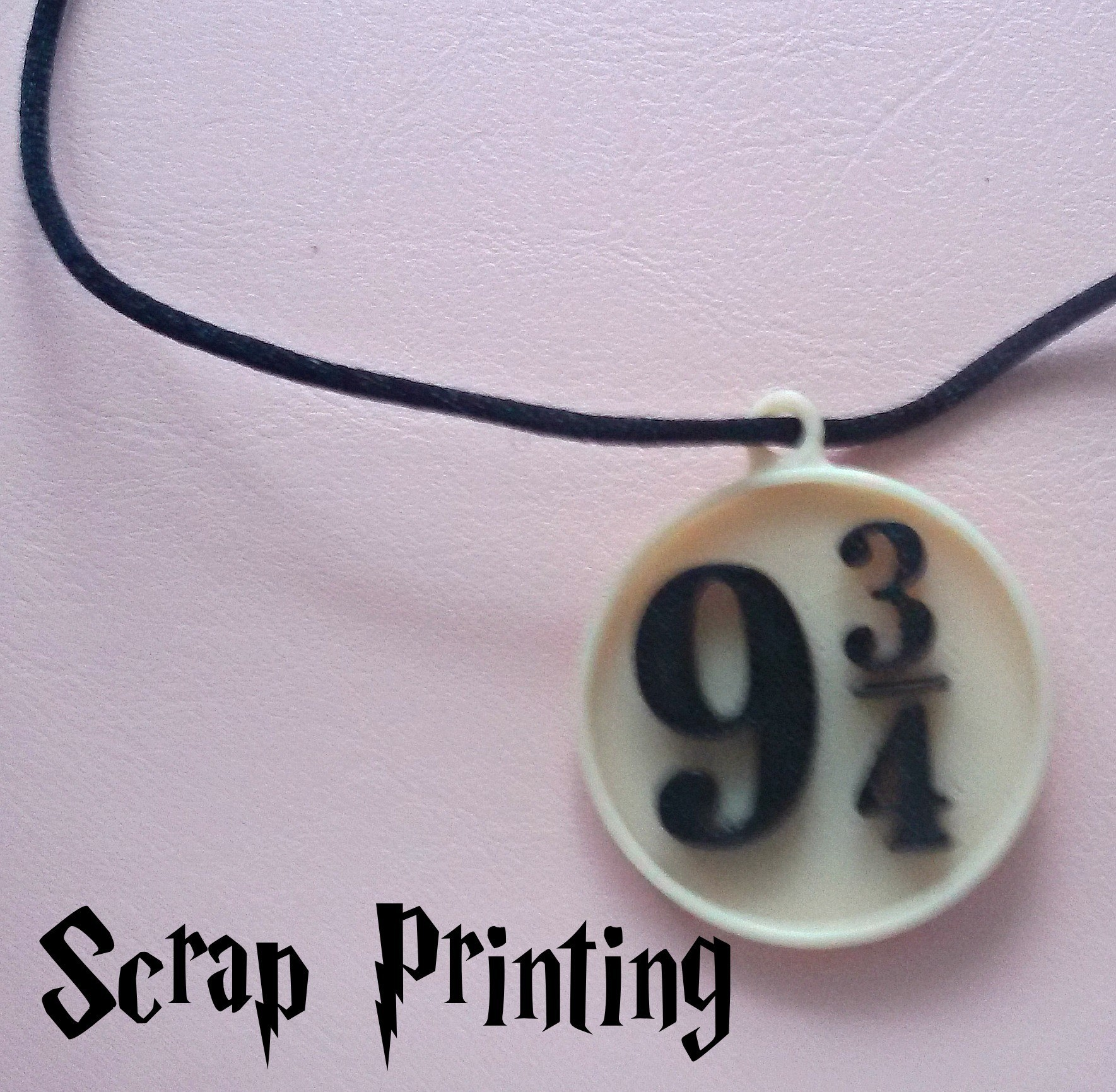 HarryC1.jpg Download free STL file Harry Potter's Platform 9 3/4 Charm! • 3D printable object, ScrapPrinting