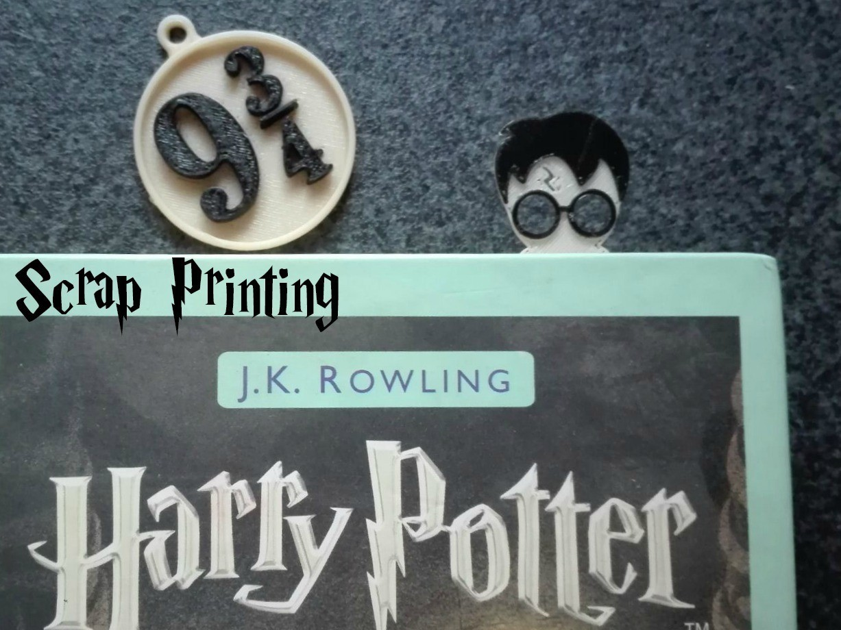 HarryT1.jpg Download free STL file Harry Potter's Platform 9 3/4 Charm! • 3D printable object, ScrapPrinting