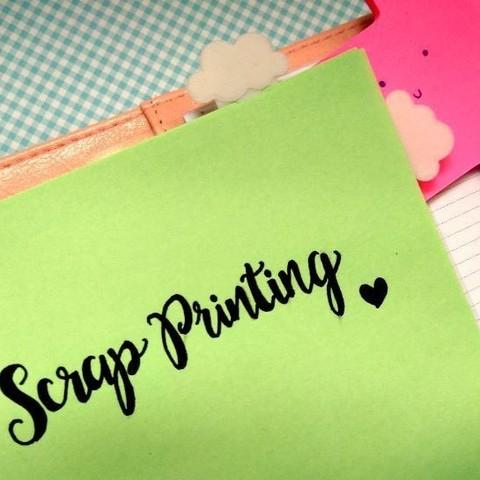 Free Cloud Bookmarks 3D printer file, ScrapPrinting