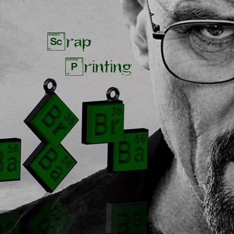Free 3d print files Breaking Bad Charm!, ScrapPrinting