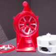 Download free 3D print files Air Raid Siren - hand crank version 2, MlePh
