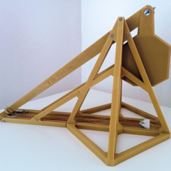 Download free STL file Trebuchet • Template to 3D print, MlePh