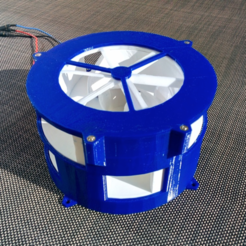Download free 3D printing designs Air Raid Siren, MlePh