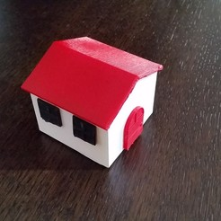 3D print model Small house, Arge89