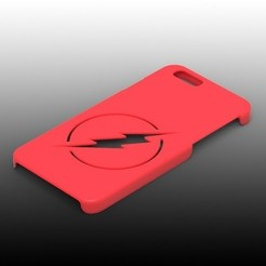 Download STL file Iphone 6 flash cover • 3D print template, Arge89