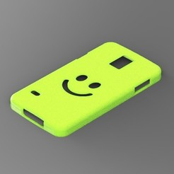 Samsung S5 Smile cover STL file, Arge89