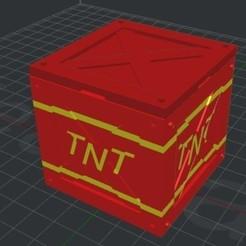 Descargar archivo STL Caja de cartuchos de interruptores de TNT de bandicoot de choque • Objeto para impresión 3D, Chris_90