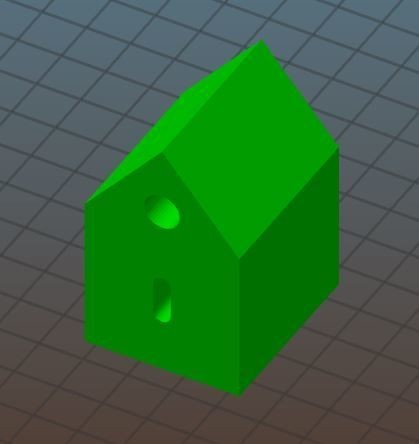 1.JPG Download free STL file Key house • 3D printing object, skabrick