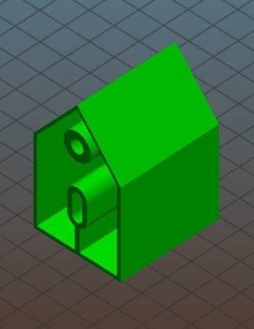 2.JPG Download free STL file Key house • 3D printing object, skabrick