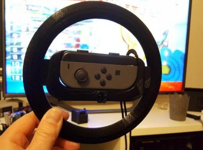 wheel3.PNG Télécharger fichier STL gratuit Joy-Con Wheel (Nintendo Switch) • Design imprimable en 3D, JosMiguelFernandes