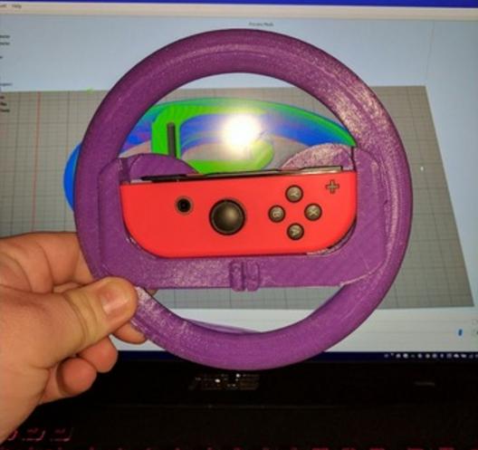 Wheel2.PNG Télécharger fichier STL gratuit Joy-Con Wheel (Nintendo Switch) • Design imprimable en 3D, JosMiguelFernandes