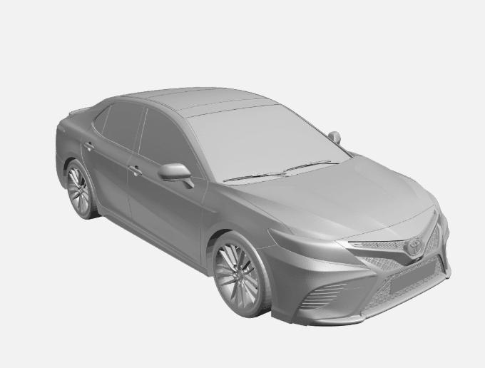 Screenshot_751.png Télécharger fichier OBJ gratuit Toyota Camry • Objet pour impression 3D, VinyassShivanand