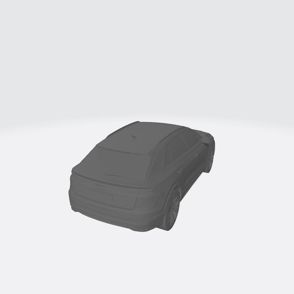 AudiQ8 2019 3.jpg Télécharger fichier STL gratuit Audi Q8 2019 • Plan pour impression 3D, VinyassShivanand