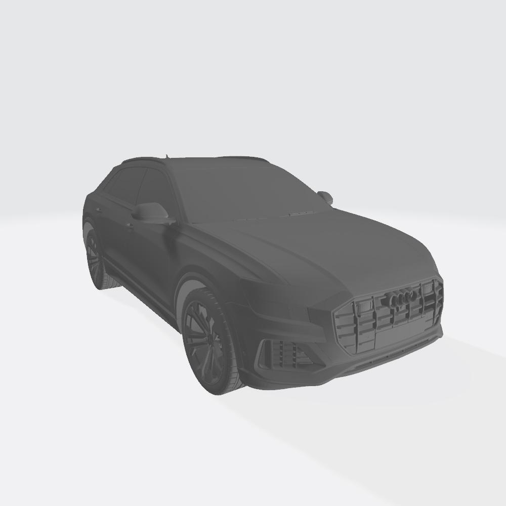 AudiQ8 2019 4.jpg Télécharger fichier STL gratuit Audi Q8 2019 • Plan pour impression 3D, VinyassShivanand