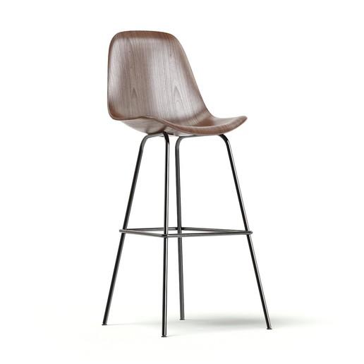 Download free 3D print files Wooden Bar Chair, VinyassShivanand