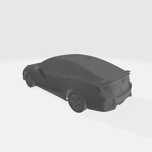 Honda Civic 2017 123.jpg Télécharger fichier OBJ gratuit Honda Civic 2017 • Modèle imprimable en 3D, VinyassShivanand