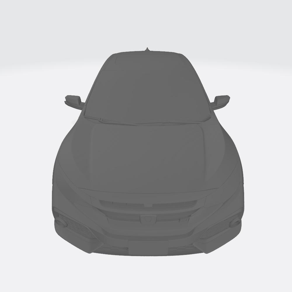 Honda Civic 2017 12.jpg Télécharger fichier OBJ gratuit Honda Civic 2017 • Modèle imprimable en 3D, VinyassShivanand