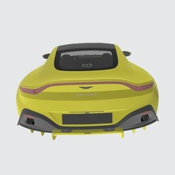 Download free 3D printer files Aston Martin Vantage 2019, VinyassShivanand
