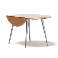 Download free STL Round Folding Table, VinyassShivanand