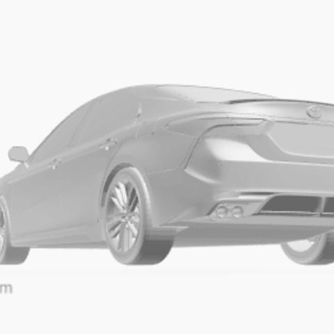 Screenshot_753.png Télécharger fichier OBJ gratuit Toyota Camry • Objet pour impression 3D, VinyassShivanand