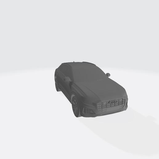 AudiQ8 2019 2.jpg Télécharger fichier STL gratuit Audi Q8 2019 • Plan pour impression 3D, VinyassShivanand