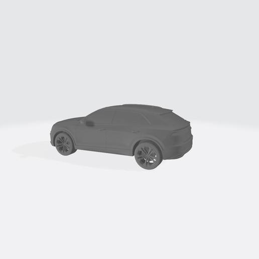 AudiQ8 2019 1.jpg Télécharger fichier STL gratuit Audi Q8 2019 • Plan pour impression 3D, VinyassShivanand