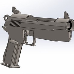 1.JPG Download STL file Fortnite gun pistol in parts • 3D printing object, PierreAnne