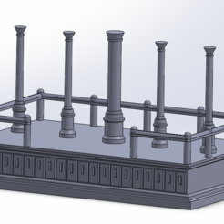 rostre1.PNG Download STL file Rostre impérial / Imperial rostrum • 3D printable model, PierreAnne