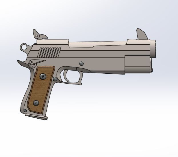 3.JPG Download STL file Fortnite gun pistol • Model to 3D print, PierreAnne