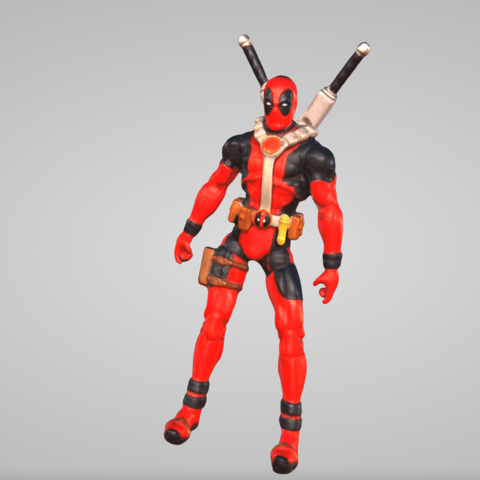 Download 3D printing templates Deadpool, AlainEduardo