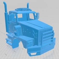 foto 1.jpg Télécharger fichier STL Western Star 6900 XD Camion à cabine imprimable • Plan à imprimer en 3D, hora80