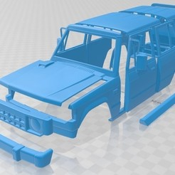 foto 1.jpg Download STL file Mitsubishi Pajero Wagon 5 Door 1983 Printable Body Car • 3D print design, hora80