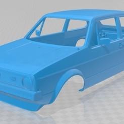 foto 1.jpg Télécharger fichier STL Volkswagen Golf MK1 voiture à carrosserie imprimable • Design à imprimer en 3D, hora80