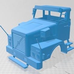 foto 1.jpg Télécharger fichier STL Camion à cabine imprimable Volvo N10 • Modèle à imprimer en 3D, hora80