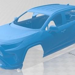 foto 1.jpg Télécharger fichier STL Toyota RAV4 LE 2019 Voiture à carrosserie imprimable • Objet à imprimer en 3D, hora80