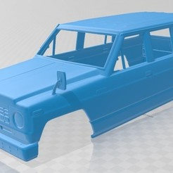 foto 1.jpg Download STL file Nissan Patrol 1980 Printable Body Car • 3D printer model, hora80