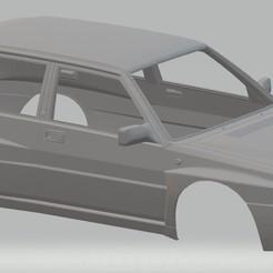 Télécharger fichier 3D Lancia Delta 1982 Carrosserie imprimable, hora80