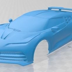 foto 1.jpg Download STL file Bugatti Centodieci 2020 Printable Body Car • 3D printer object, hora80