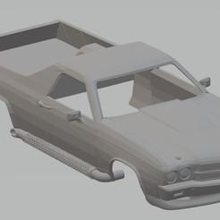 Télécharger modèle 3D El Camino 1970 Voiture carrosserie imprimable, hora80