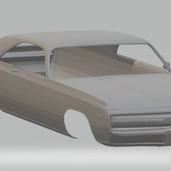 Download STL files 300 1970 Printable Body Car, hora80