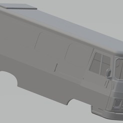 Download 3D printer files Peugeot J9 Printable Body Van, hora80