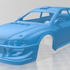 foto 1.jpg Download STL file Subaru Impreza WRX Printable Body Car • 3D printer object, hora80