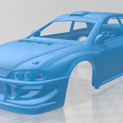 Descargar modelos 3D para imprimir Subaru Impreza WRX Printable Body Car, hora80
